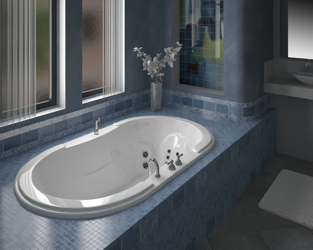 Beautiful bathroom ideas from pearl baths for Pics of bathroom designs