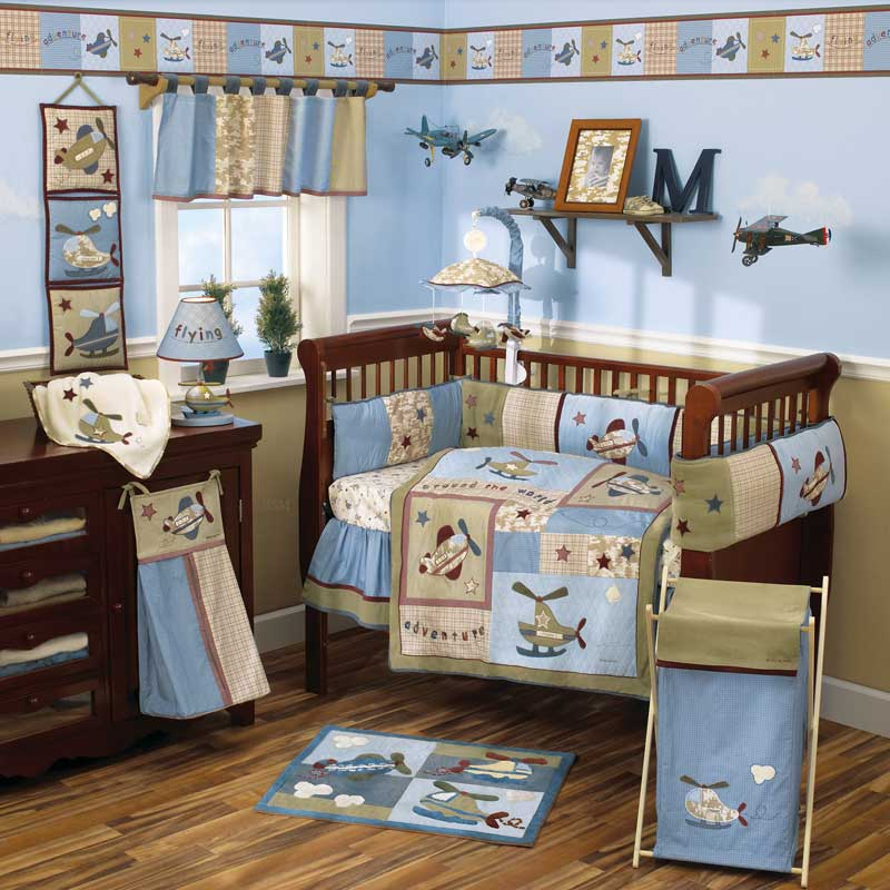 Baby bedding sets and ideas for Baby boy s room decoration