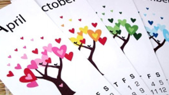 Cute Calendar Designs for 2010