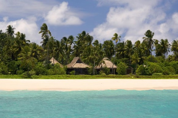 Private Island Seychelles - from outside