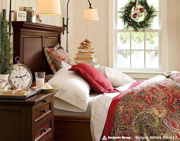 . Bedroom Decorations for Christmas