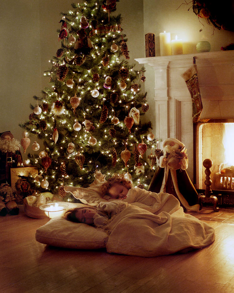 Christmas interiors for Christmas home design
