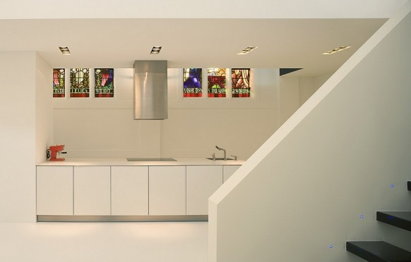church remodeled- kitchen
