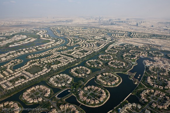 city of dubai - settlements