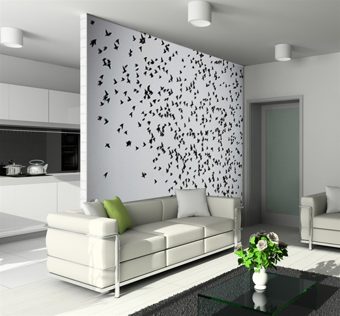 Cool Wall Tat Flying Birds