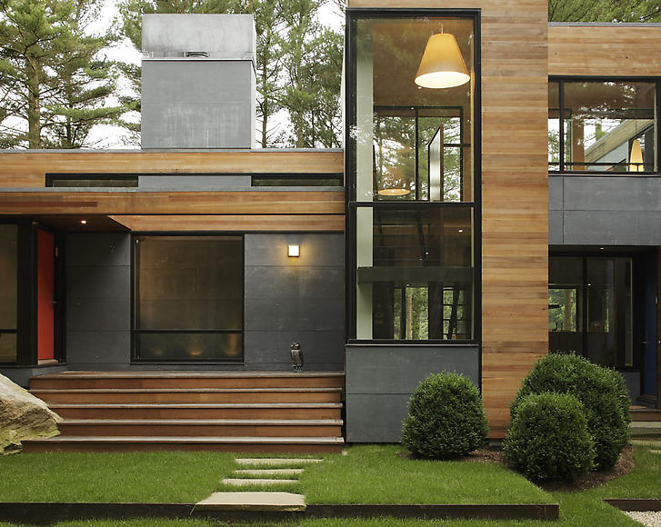 A Home Blended With Nature