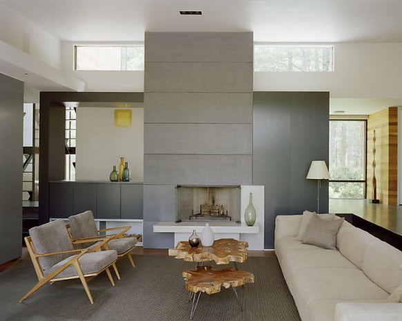 home in new york - seating area