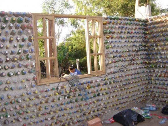 soft drink bottle house