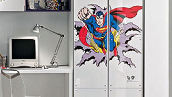 Superman and Batman Come to Your Kid's Rooms