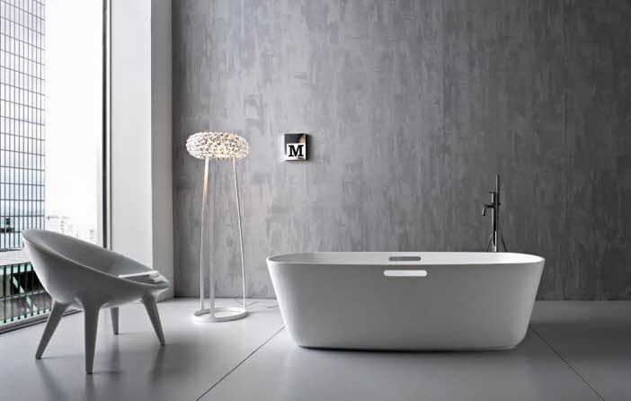 Modern bathroom designs from rexa for Bathroom design simple
