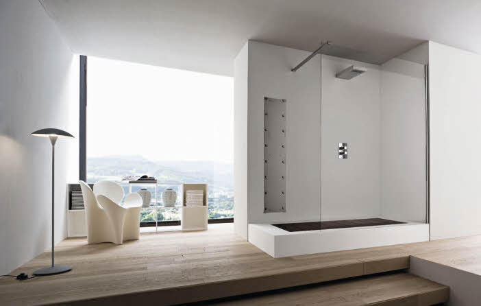 Modern bathroom designs from rexa for Sophisticated bathroom design