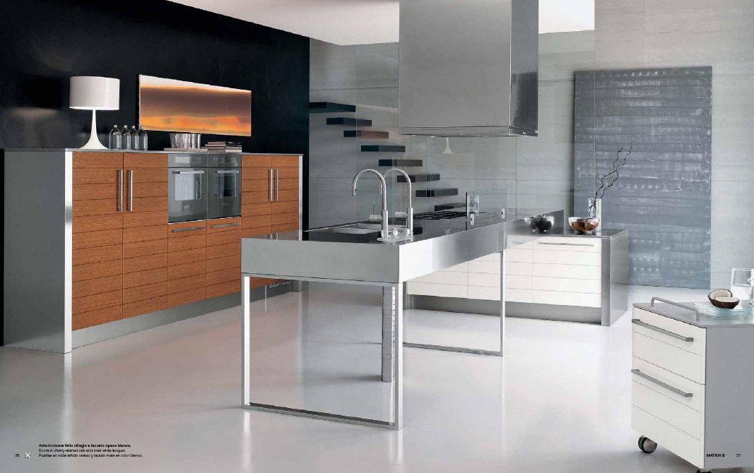Elmarcucine Features Range Of Kitchens Having Long Single Table Top