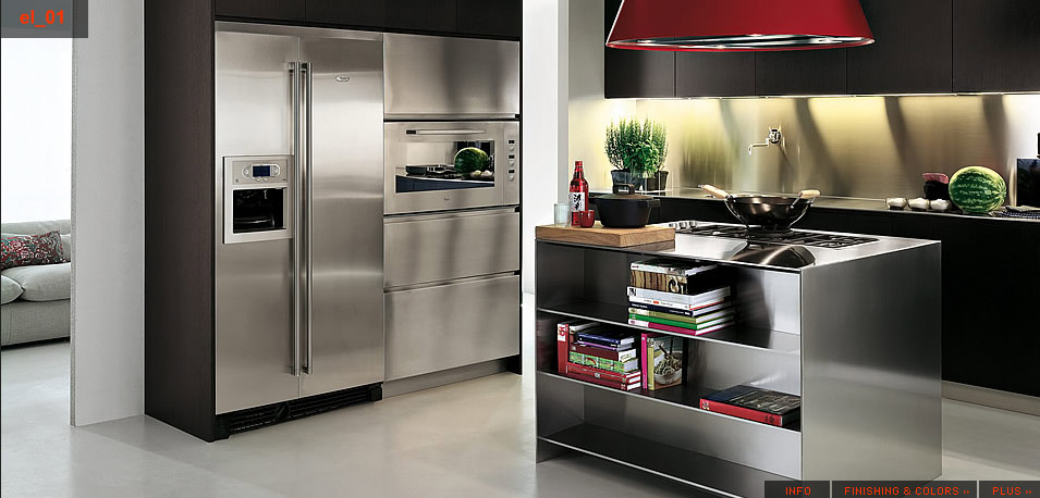 Stainless steel kitchen designs 4 selling design