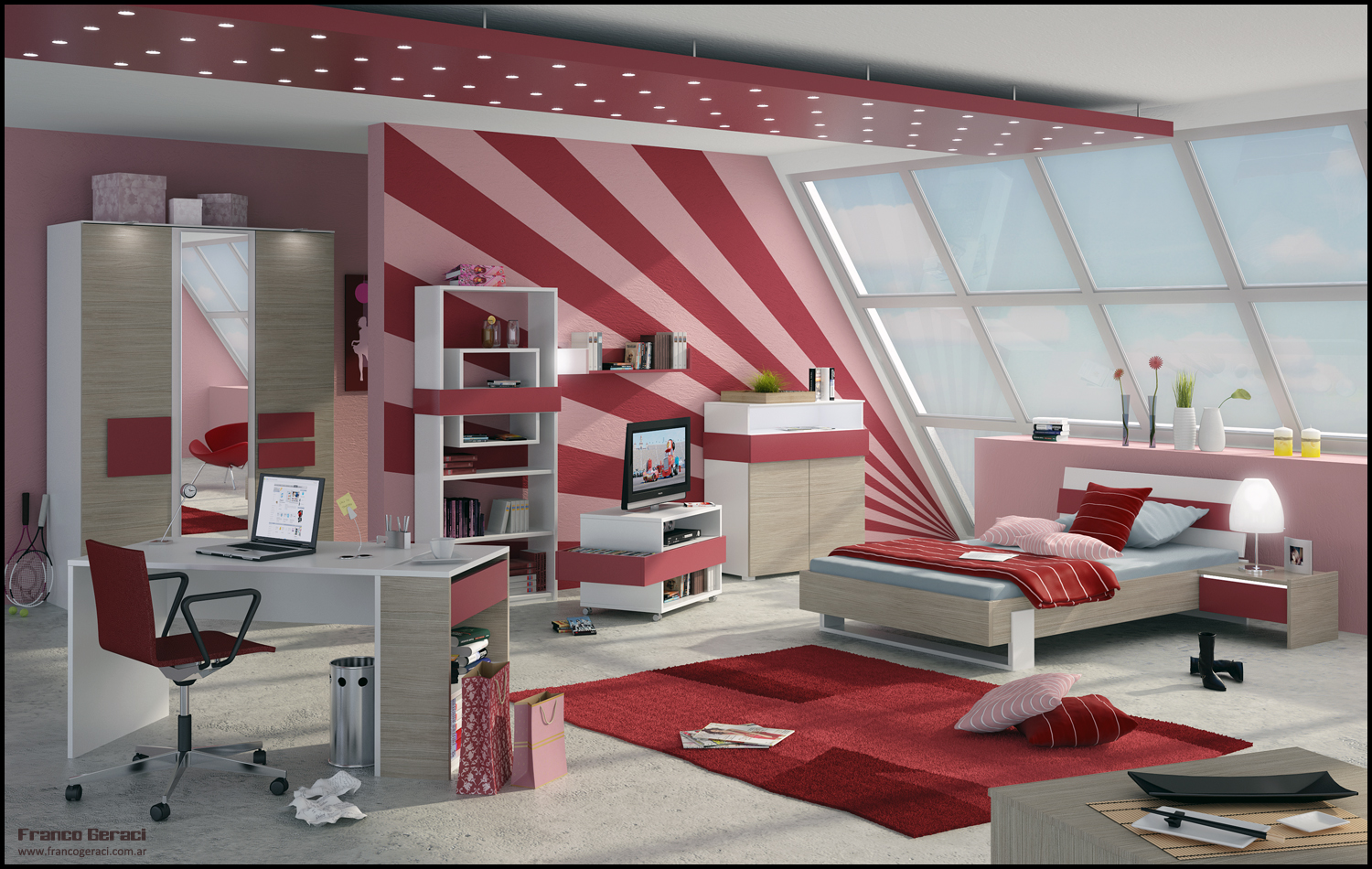 3droom by feg - Teen Room Design Ideas
