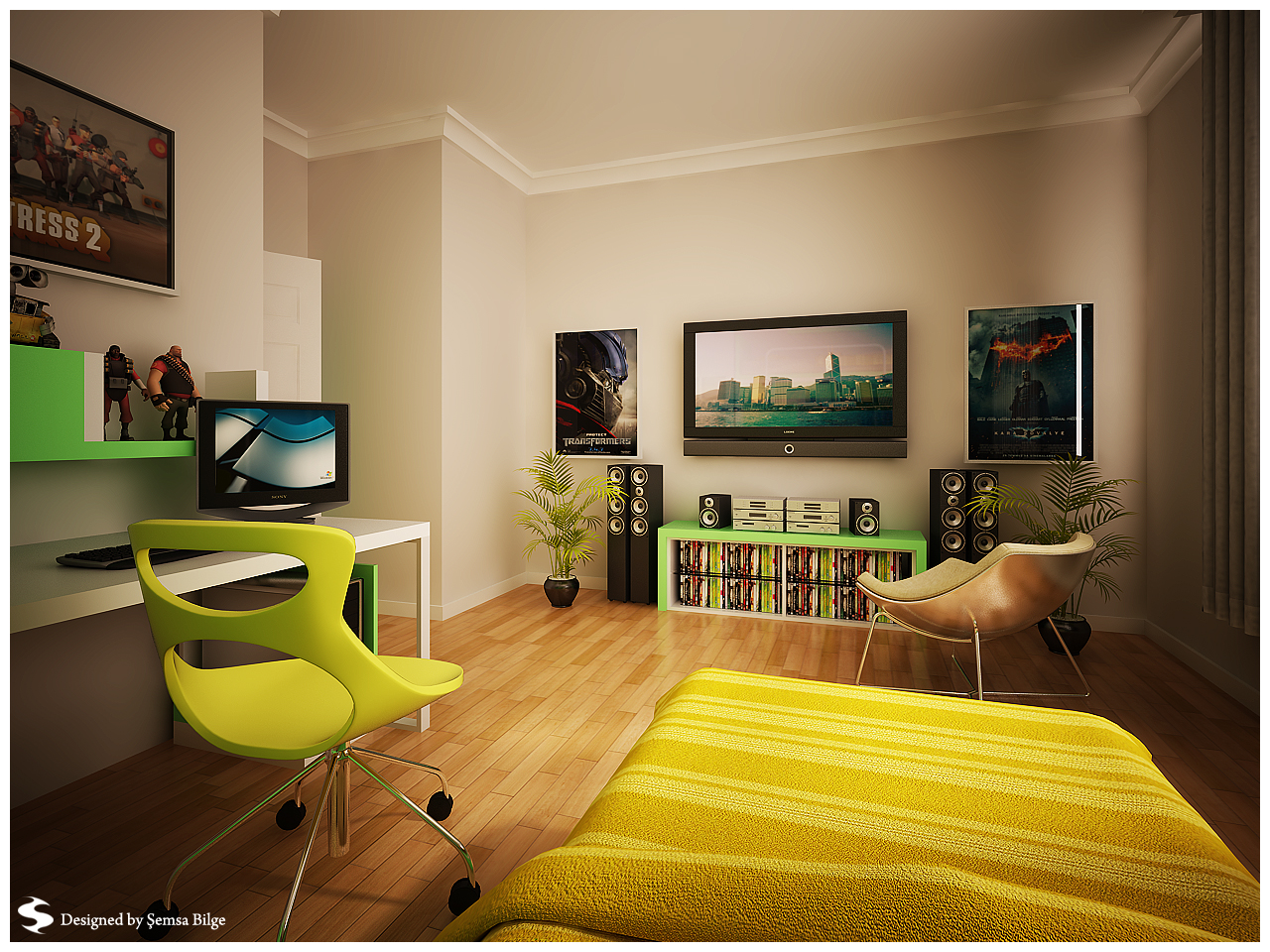 Teenage room designs Cool teen boy room ideas