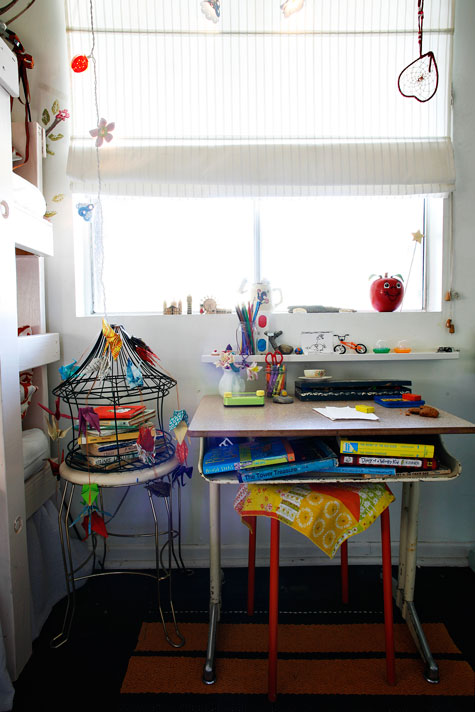 cluttered kids spaces