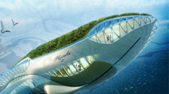 Amazing Architectural Concept Physalia The Amphibious Garden - Physalia-a-huge-floating-garden-by-vincent-callebaut
