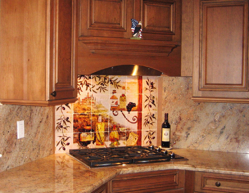 Tuscan Kitchen Backsplash Tiles