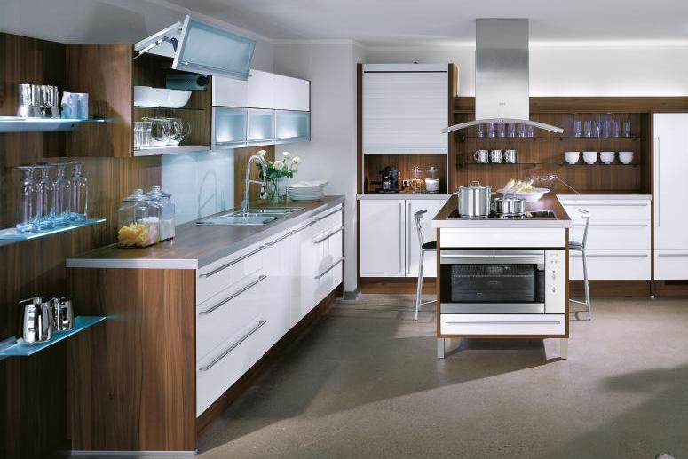 Stylish contemporary kitchens from bauformat for Contemporary kitchen style