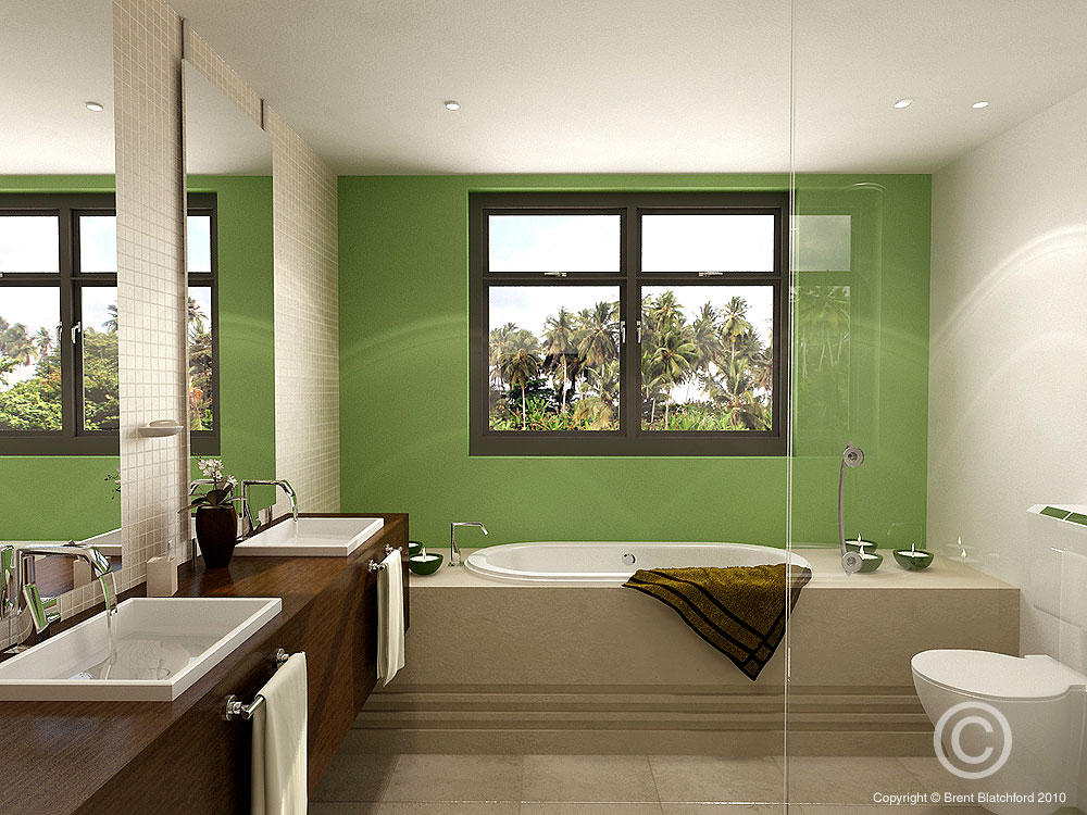 16 designer bathrooms for inspiration for Room design with bathroom