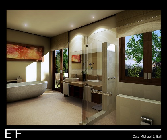 Casa Michael Bathroom Bali by Danur