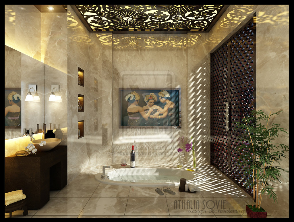 16 designer bathrooms for inspiration for Luxury toilet design