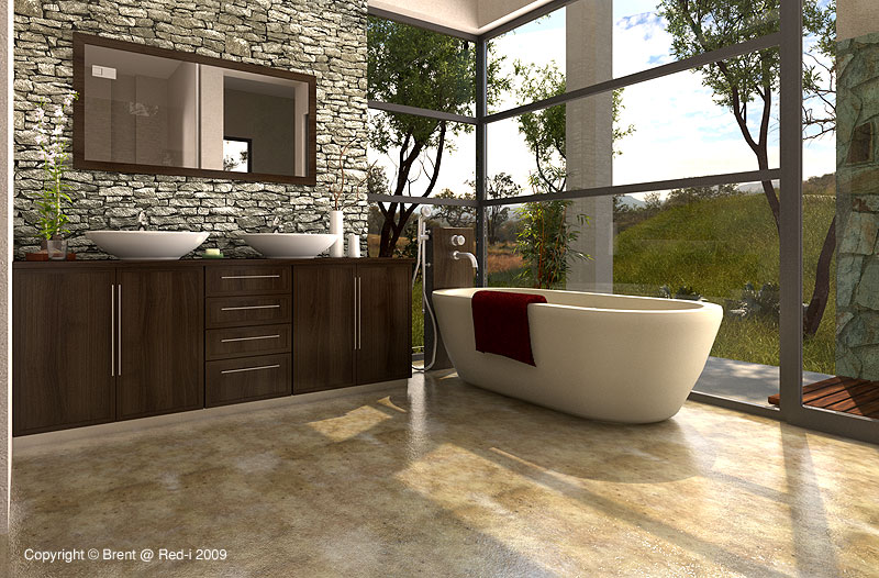 bathroom wip final by voodoo butta. 16 Designer Bathrooms for Inspiration