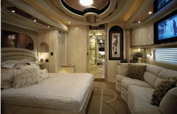 Luxury caravans interiors for Interior motorhome designs