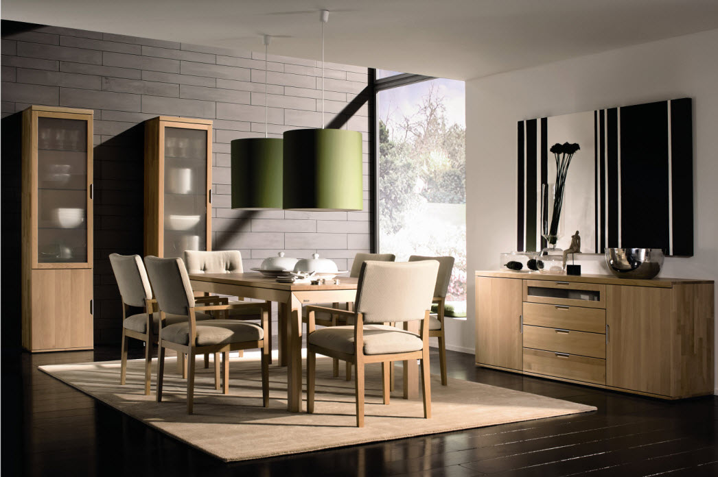 Awesome dining rooms from hulsta for Beautiful dining room ideas