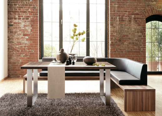 bricked dining rooms