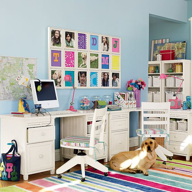 Kids study room furniture Study room ideas