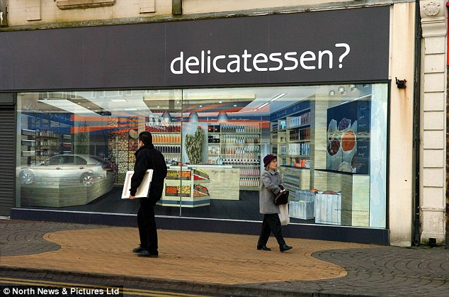 Fake Shop Fronts With Funny Window Treatment