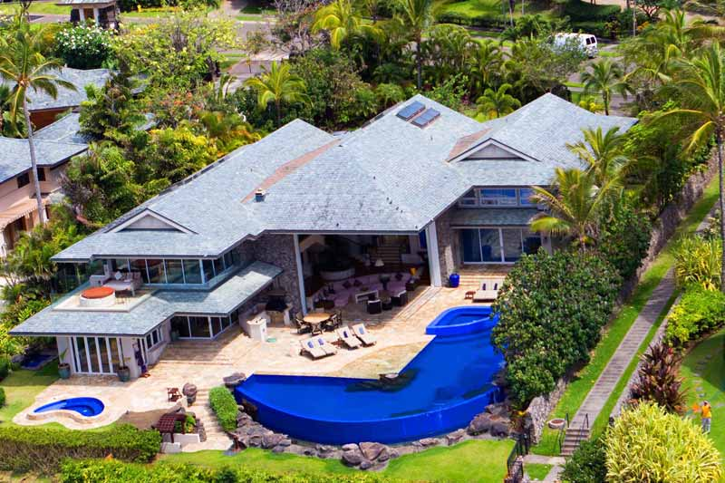 tiger woods home in hawaii hoax email