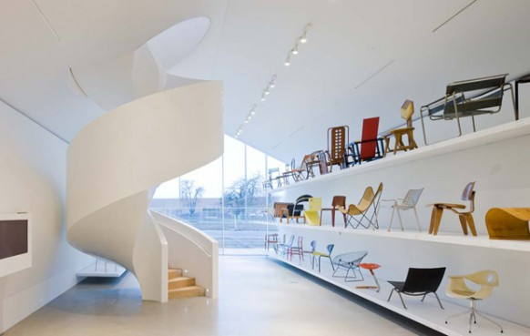 ground floor of vitra haus