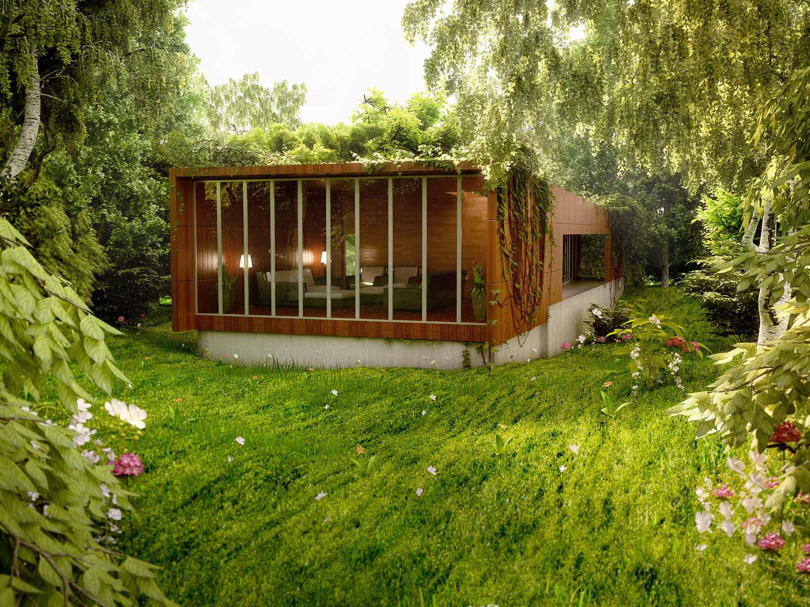 Amazing renderings of beautiful houses for New contemporary houses