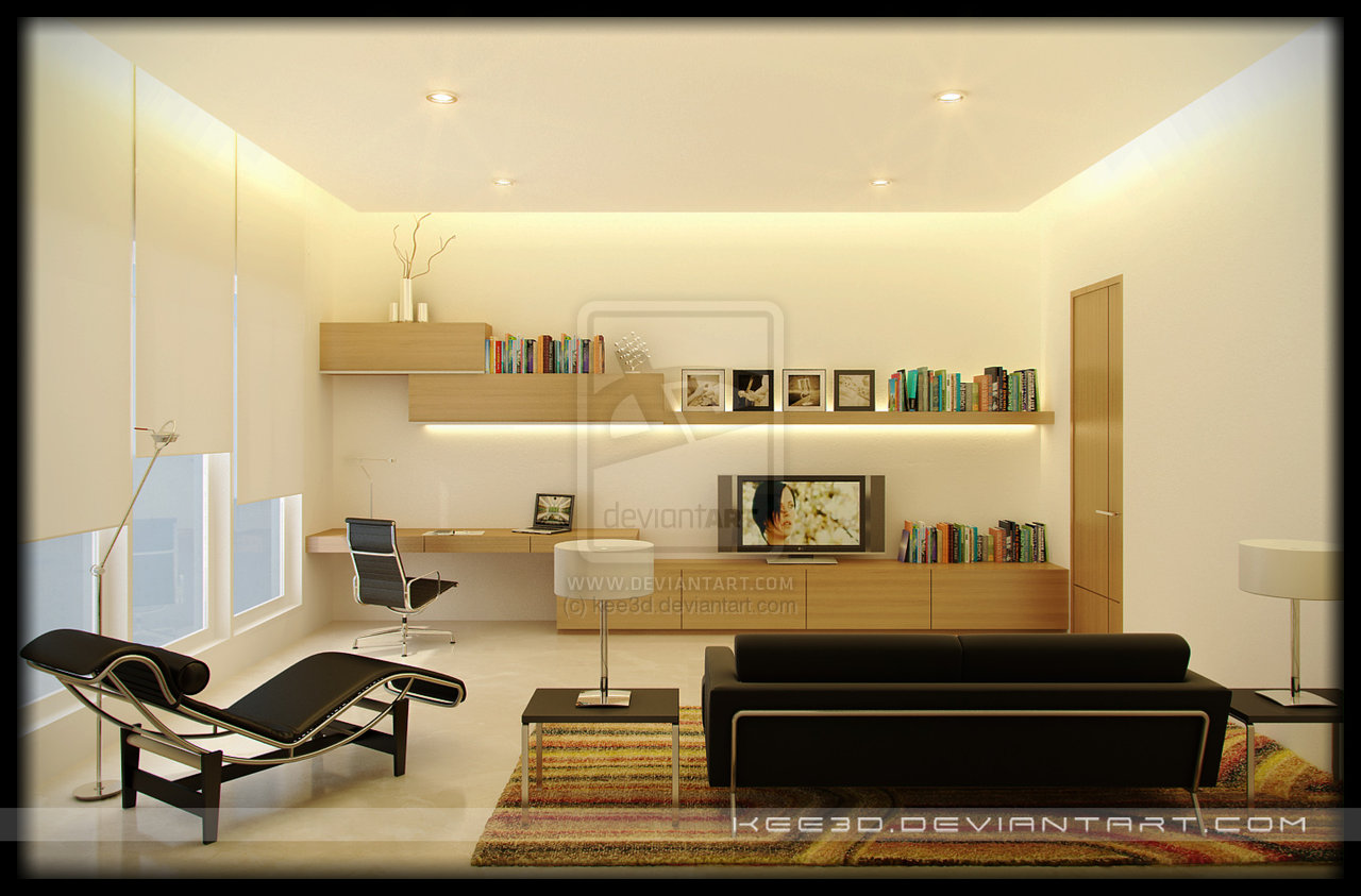 Study Room Decor Ideas. Modern Study Room Furnitures Designs Ideas