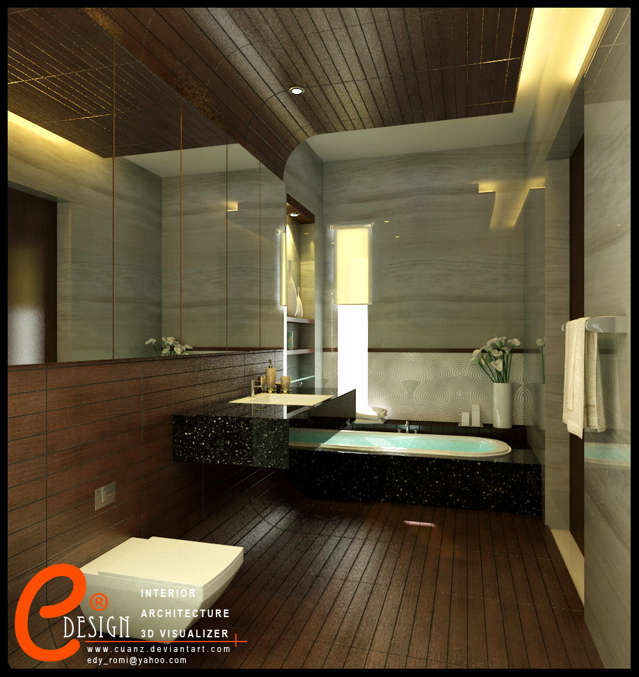 Modern master bathroom interior design - 16 Designer Bathrooms For Inspiration