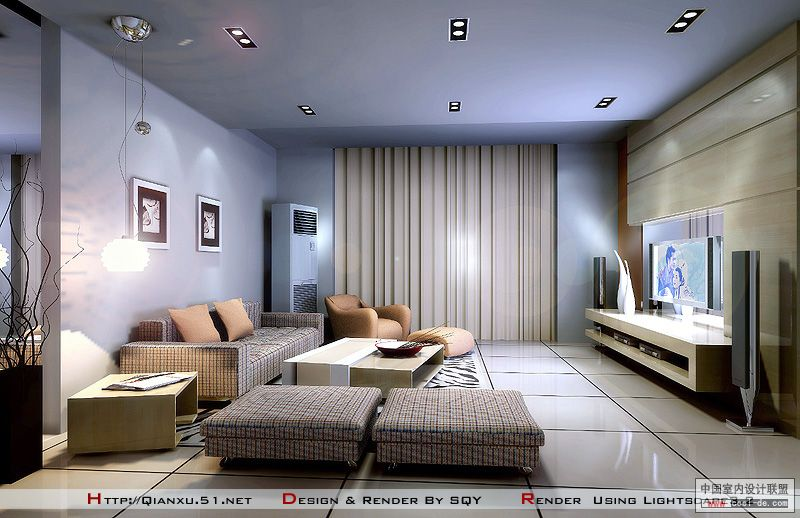 Living rooms with tv as the focus for Cool modern living rooms