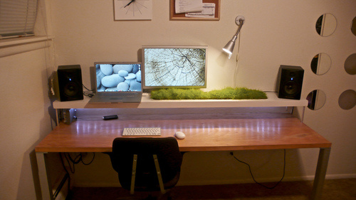 Pleasant Cool Home Workspace Setups Largest Home Design Picture Inspirations Pitcheantrous