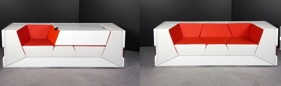 Futuristic Minimalist Furniture