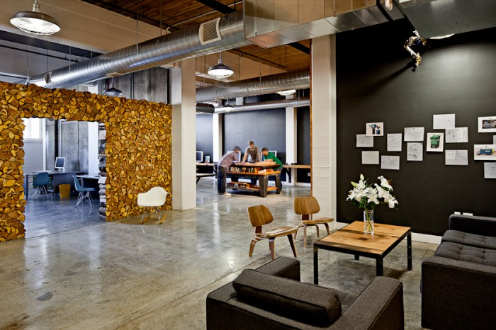 Stunning workplaces of a creative agency for Interior design agency
