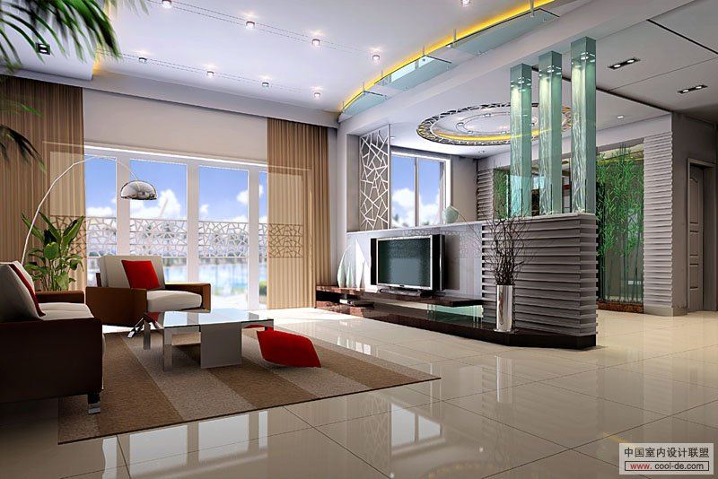 Living rooms with tv as the focus for Young modern living room