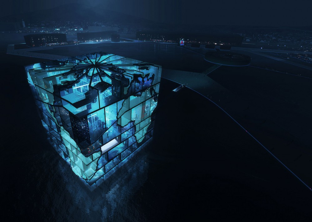 Amazing architectural concepts for world expo 2012 pavilion for Amazing architecture design
