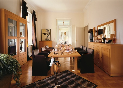 wooden dining rooms