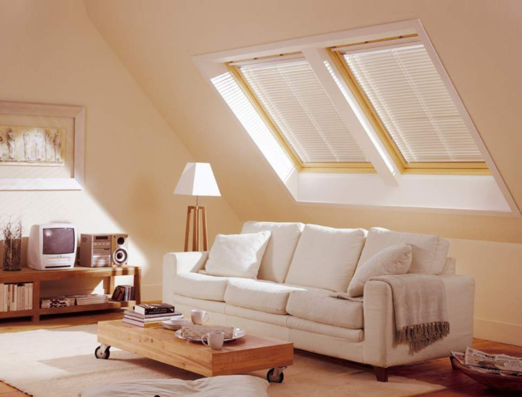 Cool attic spaces and ideas for Living room space ideas