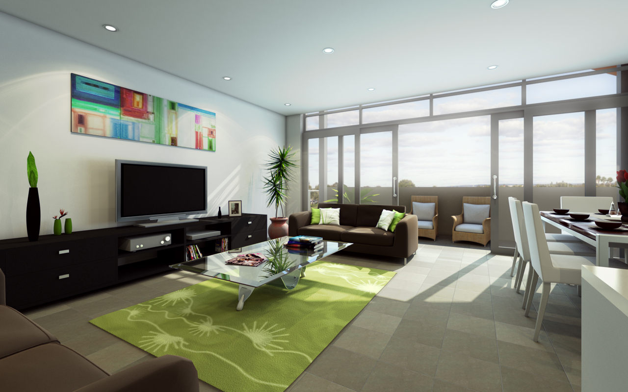 Rooms designed around televisions - Living interior design ...