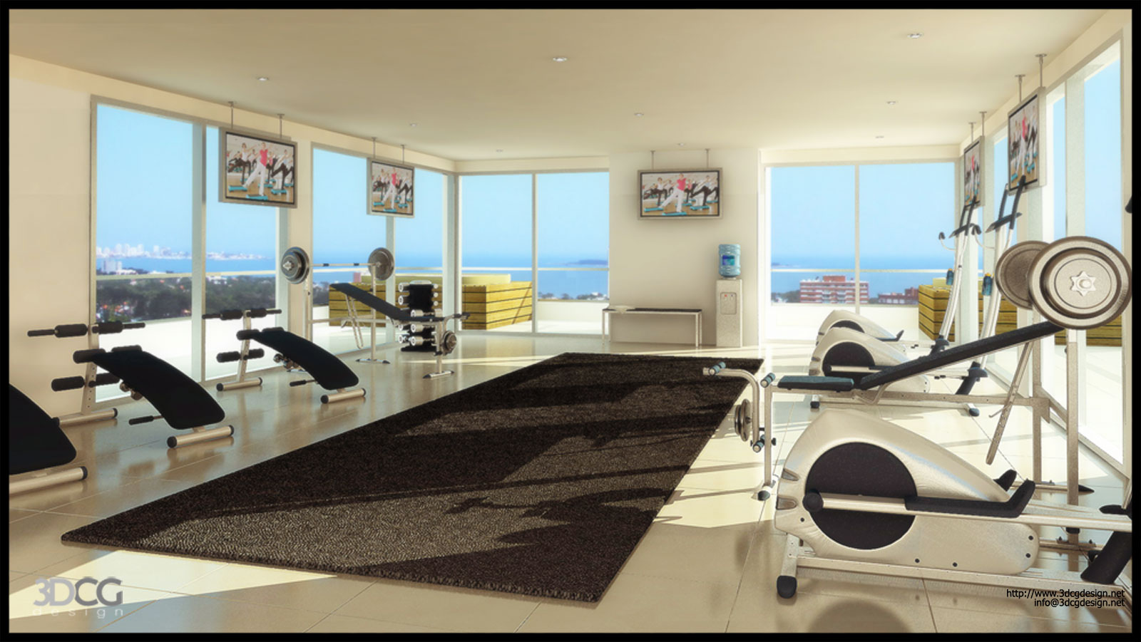 Great Home Gym Design Tips and Pictures 1600 x 901 · 215 kB · jpeg