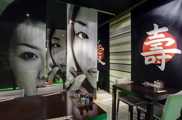 22 inspirational restaurant interior designs for Asian restaurant decoration