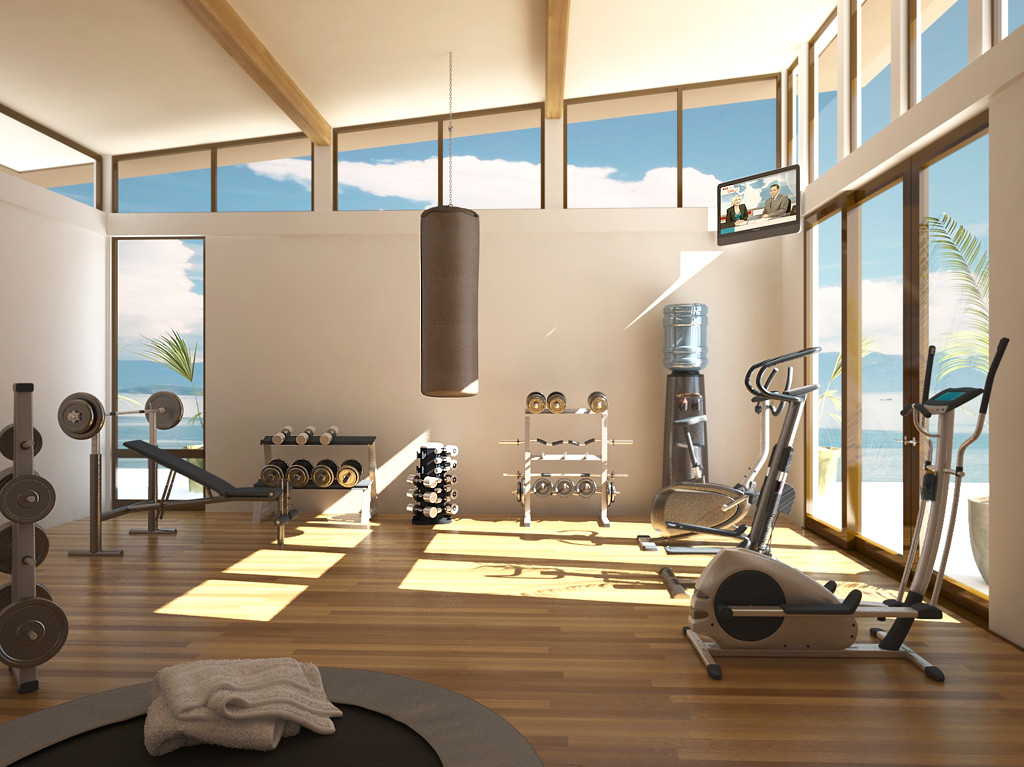 Home gym design tips and pictures - Images of home gyms ...