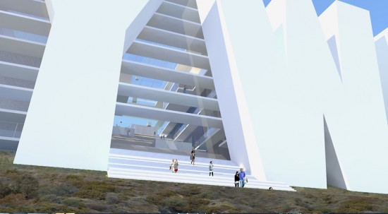 awesome hollywood sign hotel design